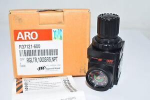 NEW ARO Ingersoll-Rand R37121-600 1/4 in Air Regulator , 59 cfm Max. Flow - Regu