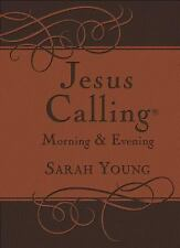 Jesus Calling Morning and Evening Devotional by Young, Sarah