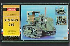 PLUSMODEL PLUS MODEL 063 - STALINETS S-60 - 1/35 RESIN