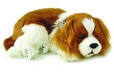 Perfect Petzzz Cavalier King Charles puppy Plush battery powered breathing toy
