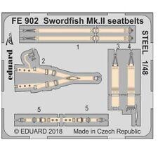 Eduard Zoom Fe902 1/48 Fairey Swordfish Mk.ii Seatbelts Steel Tamiya