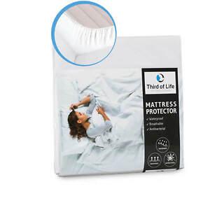 Matratzenschoner mit Seitenwänden 100% wasserdicht und für Allergiker geeignet