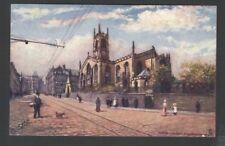 "Raphael Tuck & Sons ""OILETTE"" Postcard  7223 Parish Church Huddersfield"