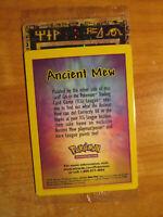 LP/Sealed ANCIENT MEW Promo Pokemon The MOVIE 2000 Card Ultra Rare Holo Foil US
