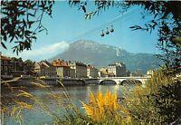BR30647 Grenoble Les bords de l isere le telepherique cable train France