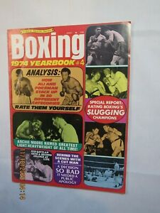 Vintage 1974 Victory Sports Boxing Yearbook Magazine Foreman, Ali, on Cover