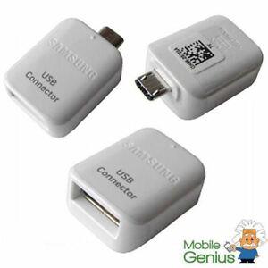 Samsung Galaxy S7 S7 Edge S6 Edge S5 Micro USB OTG to USB 2.0 Connector Adapter