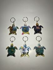 ONE ASSORTED Puerto Rico Turtle Key Chain Holder Souvenirs Rican holder