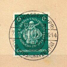 Deutsches Reich, Michel Nr. 896 sehr schön gestempeltes Luxusbriefstück.