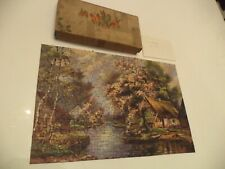 OLD VINTAGE BOXED LUMAR ? JIGSAW PUZZLE 200 - 300 pieces THE FERRY