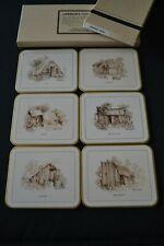 Vintage Jason Coasters (x6) - Miners Huts by Catherine Hamilton (Australia)