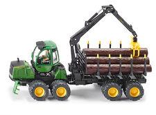 Siku 4061 John Deere Forwarder Forstwirtschaft Modell Fahrzeug Traktor Anhänger