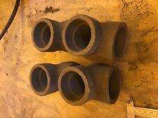 """1.5"""" Iron Pipe Tee, socket weld, a105 nf 3m 1""""1/2  - LOT of 2"""
