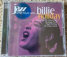 Jazz After Hours Billie Holiday CD Australia sealed Mra 2001 MAX018 25 tracks