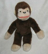 Vintage CURIOUS GEORGE Plush Stuffed Monkey COMMONWEALTH TOYS 13""