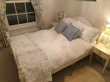 Wooden double bed frame used