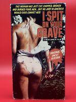I Spit On Your Grave VHS Original Uncut Version Rare Cult Horror VERY GOOD