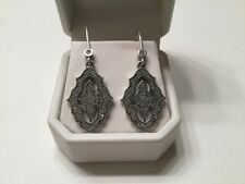 """New"" Pandora Sparkling Lace Earrings"