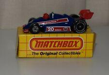 MATCHBOX SUPERFAST 1983 MB65  -STP FORMULA RACER- *NOS*