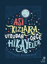 """ Asi Kızlara Uykudan Önce Hikayeler "" Turkce Kitap 2017 Registered Mail"