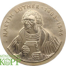 AA1927) J.1591 DDR 20 Mark 1983 - 500. Geburtstag Martin Luther - Silber