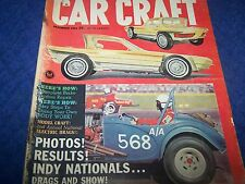 Car Craft  Magazine,Rat Rods, Early Hot Rod & Custom Cars,Back Issue Dec. 1963