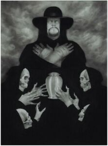 Mondo The Undertaker Poster by Randy Ortiz(LIMITED EDITION 125)*CONFIRMED ORDER*