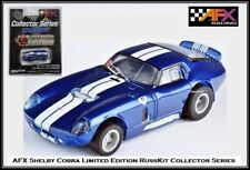 AFX ~ Mega G+ Shelby Cobra Limited Edition RussKit ~ Fits Auto World, Tomy