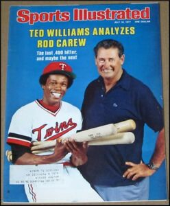 7/18/1977 Sports Illustrated Rod Carew Ted Williams British Open Tom Watson Jack