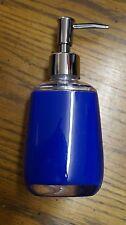 Jet blue soap dispenser pump hard plastic kitchen bath bathroom NEW!