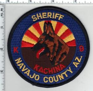 Navajo County Sheriff (Arizona) K-9 Shoulder Patch - from the 1980's