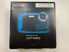 🇨🇦 New Fujifilm Finepix Camera XP140 16.4MP 4K Water Shock Proof Sky Blue
