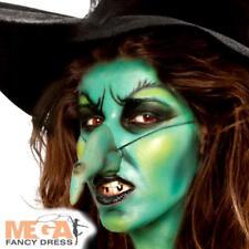 Wicked Witch Make Up Kit Fancy Dress Halloween Fairytale Spooky Costume Set New
