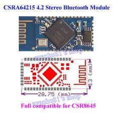 CSRA64215 4.2 Stereo Bluetooth Audio Module support AVRCP A2DP APT-X CSR8645