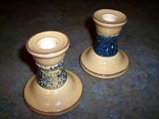 Pfaltzgraff China America Americana Set of 2 Candle Stick Holders Bases EUC