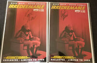 Irredeemable #1 Atomic Comics Variant SIGNED by MARK WAID Lot of 2