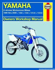 Yamaha 2 Stroke Motocross Dirt Bike Shop Serivce Repair Manual YZ 80 85 125 250