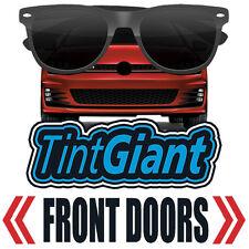 TINTGIANT PRECUT FRONT DOORS WINDOW TINT FOR GMC SIERRA 1500 CREW 14-18