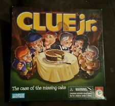 Clue Jr. Board Game - cluedo 2005 - Parker Brothers - free shipping