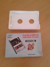 NINTENDO GAME&WATCH PANORAMA DONKEY KONG JR. CJ-93 CAJA COMPLETA BOX&FOAM VER!!!