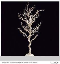 10 X Bianco/Avorio Artificiale Mane 'Anita Matrimonio Albero desideri caratteristica principale 120 cm