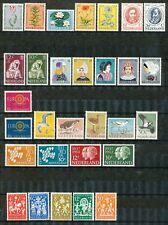 Nederland jaargangen 1960 - 1962 ongebruikt; koopje!