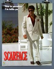 """Scarface """"This is paradise, I'm tellin ya."""" New 16x20 Inch Poster Al Pacino"""