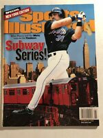 2000 Sports Illustrated NEW YORK Mets MIKE PIAZZA No Label SUBWAY World SERIES