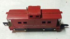 """""""American Flyer"""" Lines AC Gilbert Caboose 638 AF #638 Red Vintage 1953 Antique"""