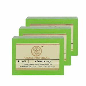 Khadi Handmade Soap Natural Herbal Soap With Essential Oil 125g, Set Of 3 Pcs
