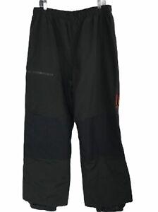 Columbia Mens Vintage Convert Black Ski Snowboard Pants Size Large Reinforced