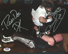Mick Foley & Road Dogg Jesse James Signed WWE 8x10 Photo PSA/DNA COA DX Picture