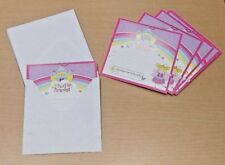 20 PACK - Let's Party Fairy Princess Party Invitation Cards with Envelopes