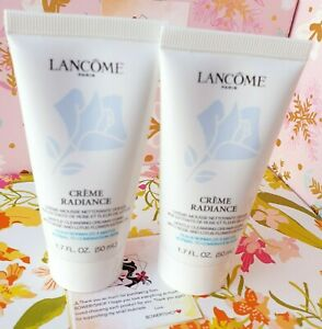 Lancome Creme Radiance Cleansing Creamy Foam 2 * 1.7oz Normal Combination Skin